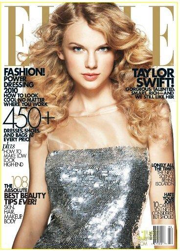 Тэйлор Свифт в журнале Elle. Апрель 2010