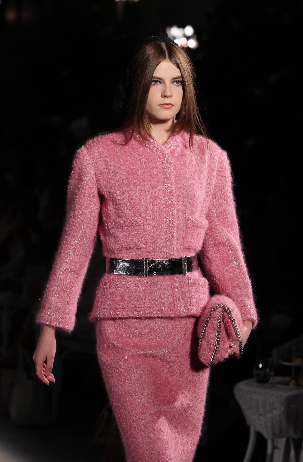 Модный показ  Chanel Haute Couture. Осень / зима 2012-2013