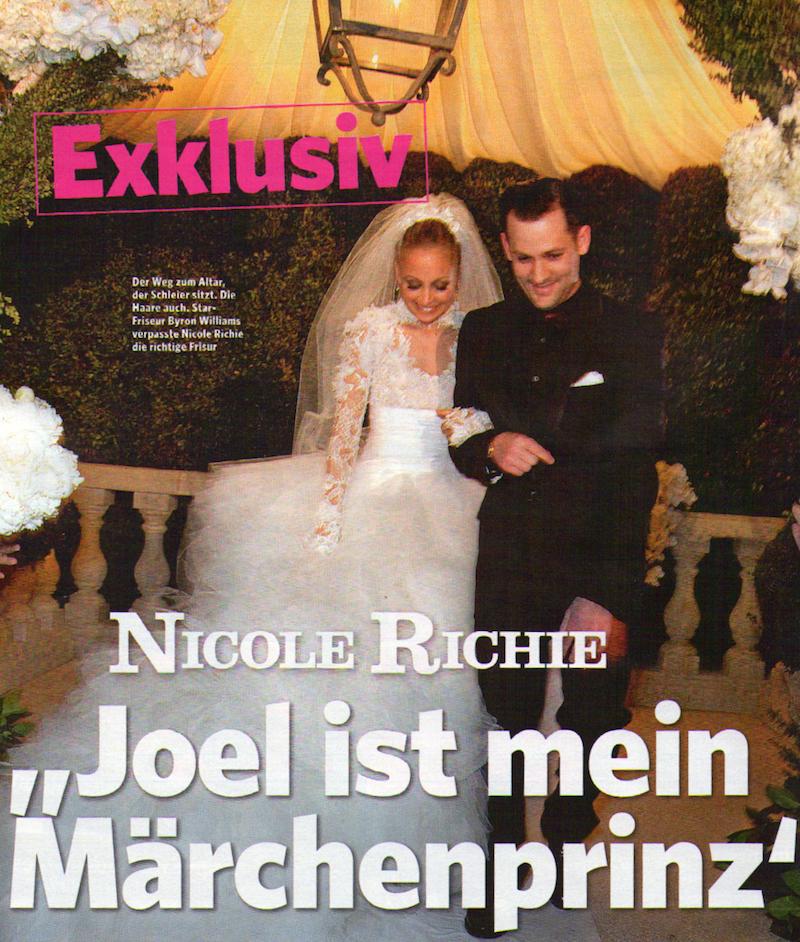 Фотографии со свадьбы Николь Ричи и Джоэля Мэддена