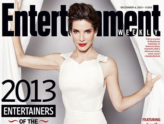Сандра Буллок — звезда года по версии Entertainment Weekly