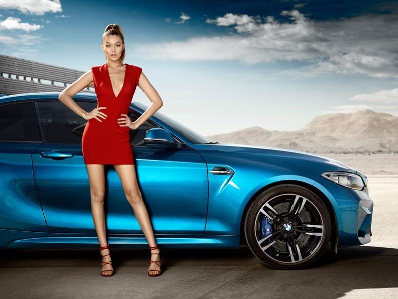 Джиджи Хадид снялась в рекламе BMW