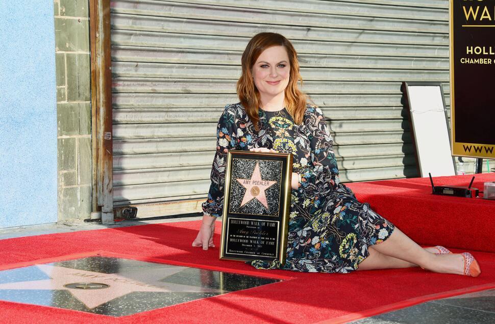 Эми Полер получила звезду на Аллее славы