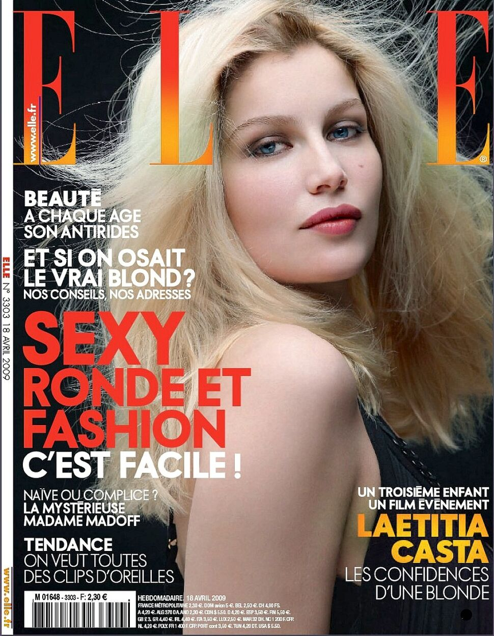 Летиция Каста в журнале Elle Франция. Апрель 2009
