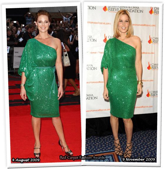 Fashion battle: Кэтрин Хейгл и Мэри-Элис Стивенсон