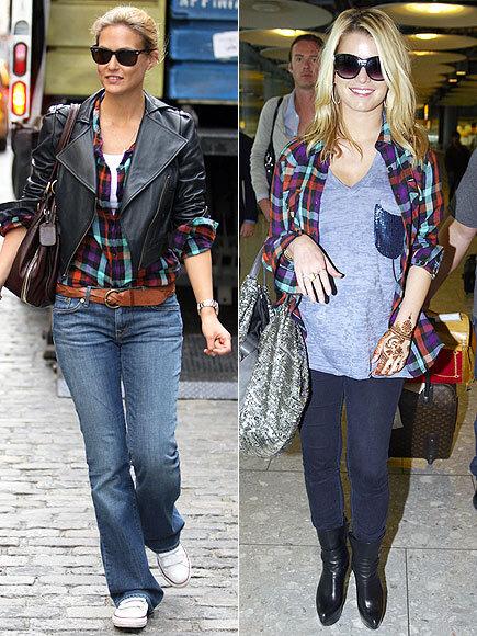 Fashion battle: Бар Рафаэли и Джессика Симпсон