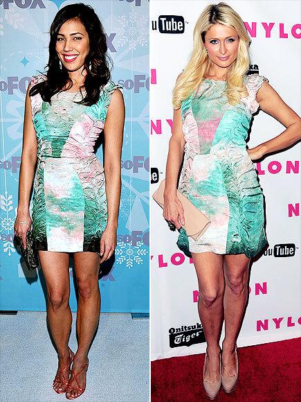 Fashion Battle: Микаэла Конлин и Пэрис Хилтон