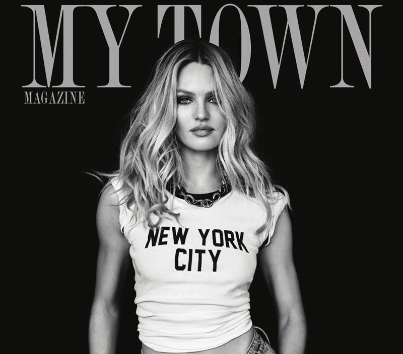 Кэндис Свейнпол снялась в откровенной фотосессии для журнала My Town