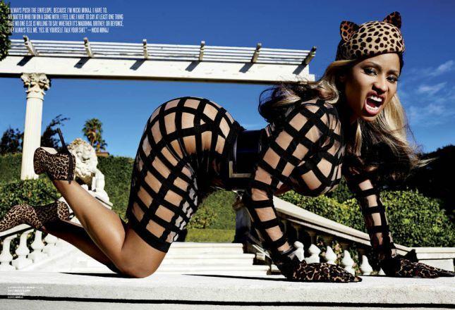 Ники Минаж в журнале  V Magazine. Выпуск 91