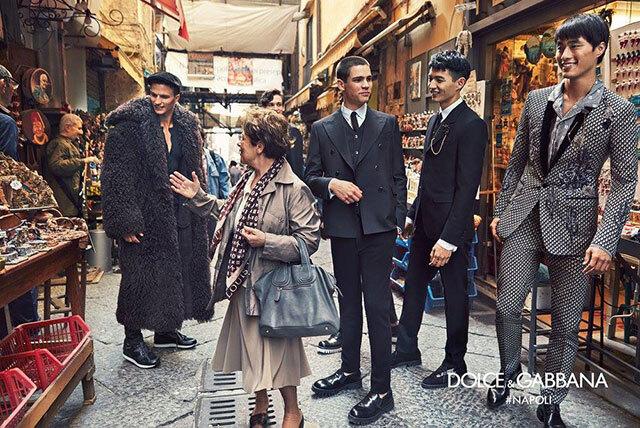 Dolce & Gabbana сняли в своей рекламной кампании вещи других брендов