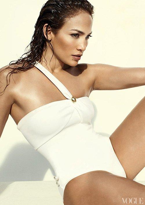 Дженнифер Лопес в журнале Vogue. Июнь 2012