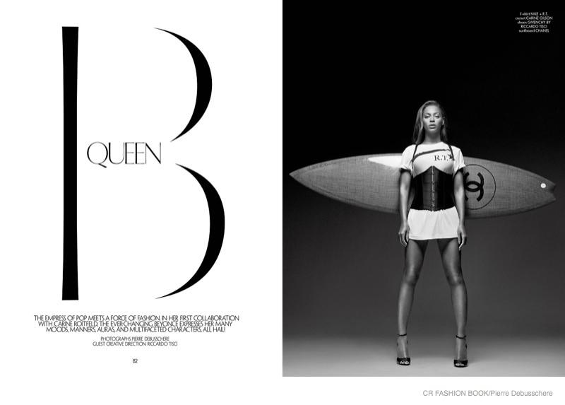 Бейонсе в журнале CR Fashion Book #5