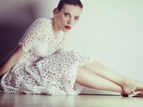 Скарлетт Йоханссон в журнале Marie Claire Великобритания. Декабрь 2013