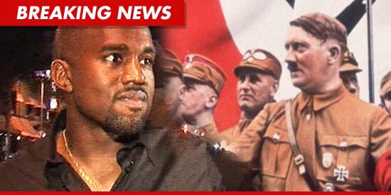 Кани Вест сравнил себя с Гитлером