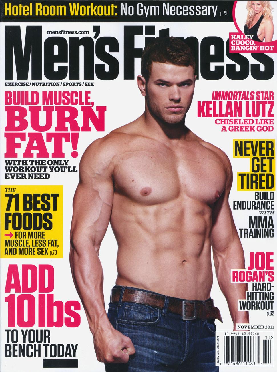 Видео: Келлан Латс на съемках для журнала Men's Fitness