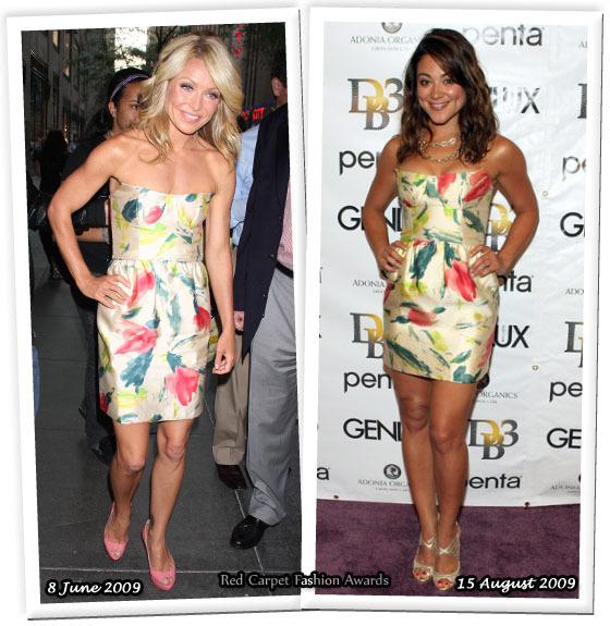Fashion battle: Келли Рипа и Камилла Гуати