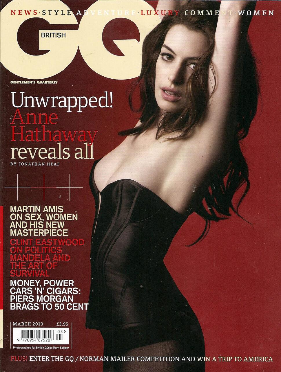 Энн Хэтэуэй в журнале GQ. Март 2010