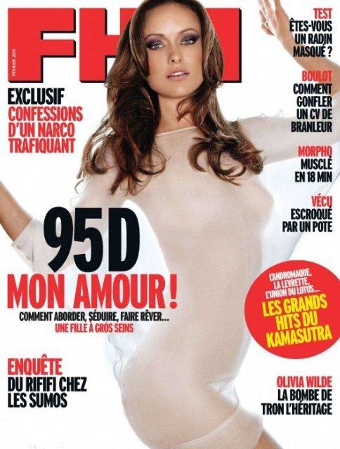 Оливия Уайлд во французском FHM. Февраль 2011