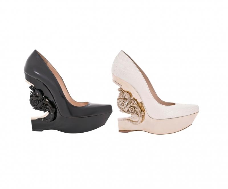 Новая коллекция обуви Roberto Cavalli. Весна 2012