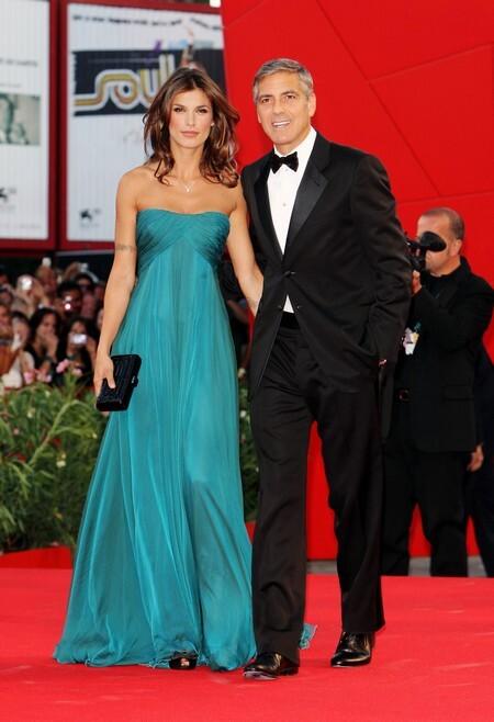 Джордж Клуни и его дама на кинофестивале в Венеции