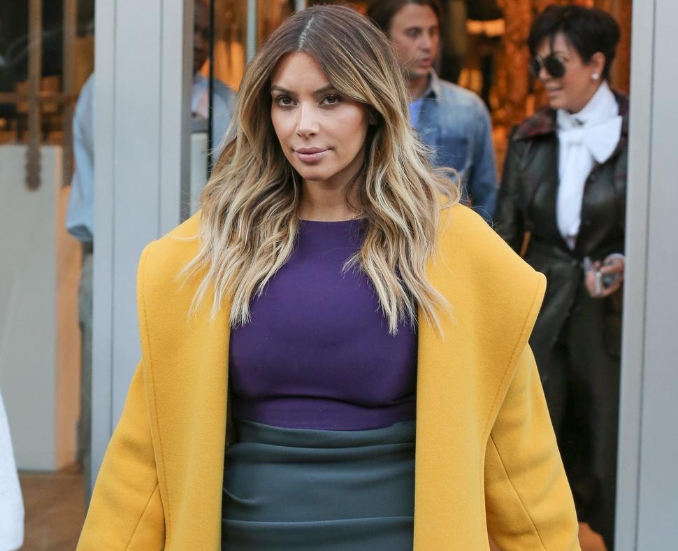 Ким Кардашян обвиняет журнал Life and Style в клевете