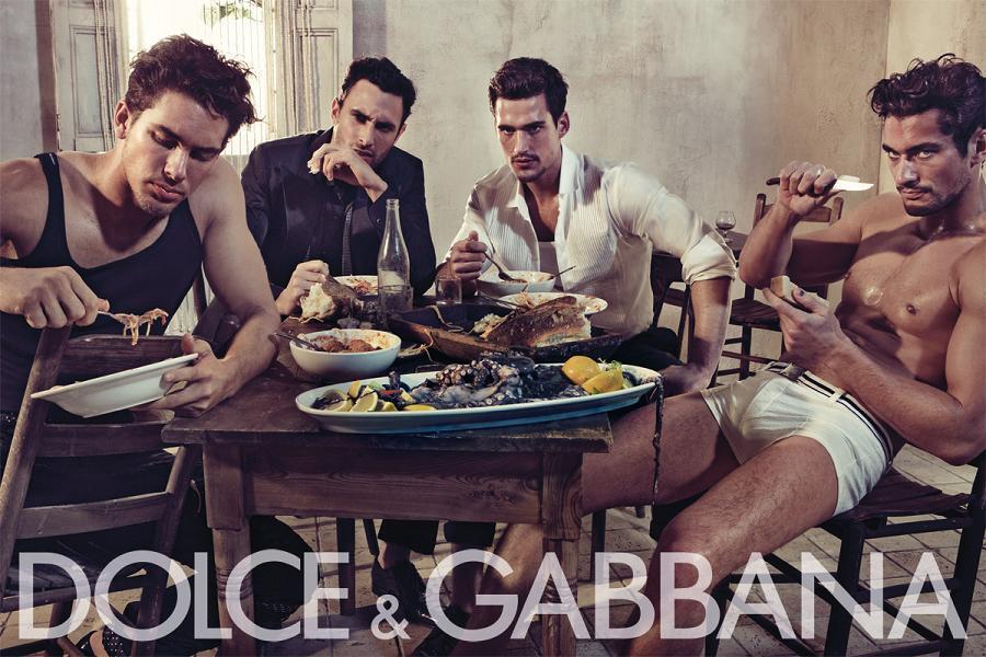 Рекламная кампания мужской одежды Dolce & Gabbana Весна/Лето 2010