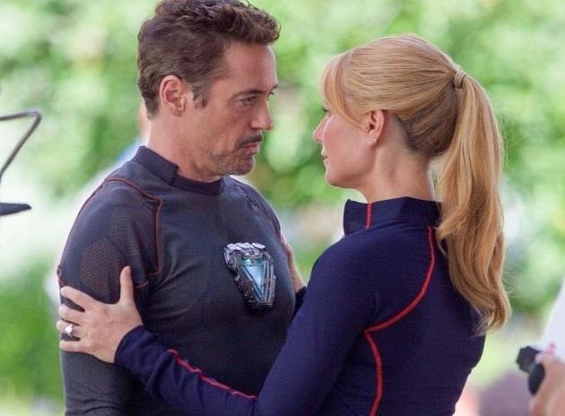 Новые фото: Роберт Дауни-младший и Гвинет Пэлтроу на съемках «Мстителей 4»
