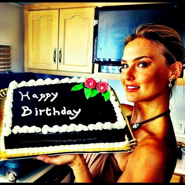 Бар Рафаэли отметила день рождения