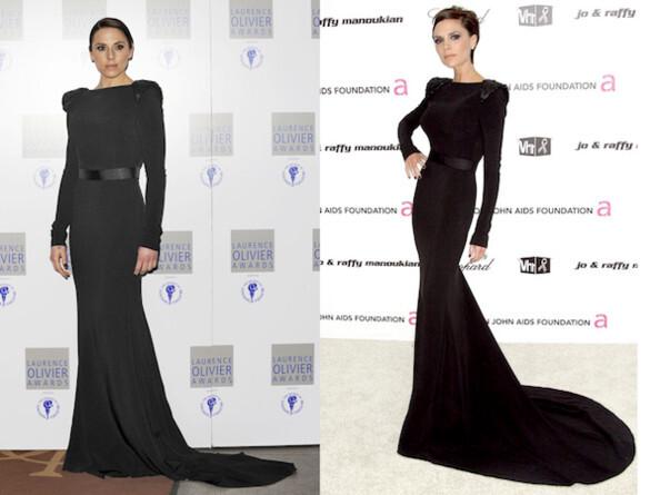 Fashion battle: Мел Си и Виктория Бэкхем