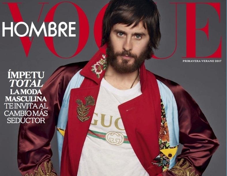 Джаред Лето снялся для обложки «мужского» Vogue (весна-лето 2017)