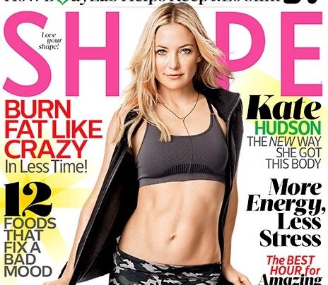 Кейт Хадсон в журнале Shape. Март 2015