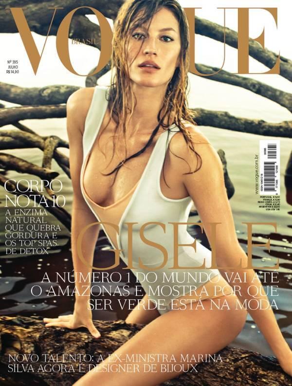 Жизель Бундхен в журнале Vogue. Бразилия. Июль 2011