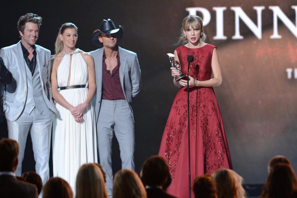 Звезды на церемонии Country Music Awards 2013