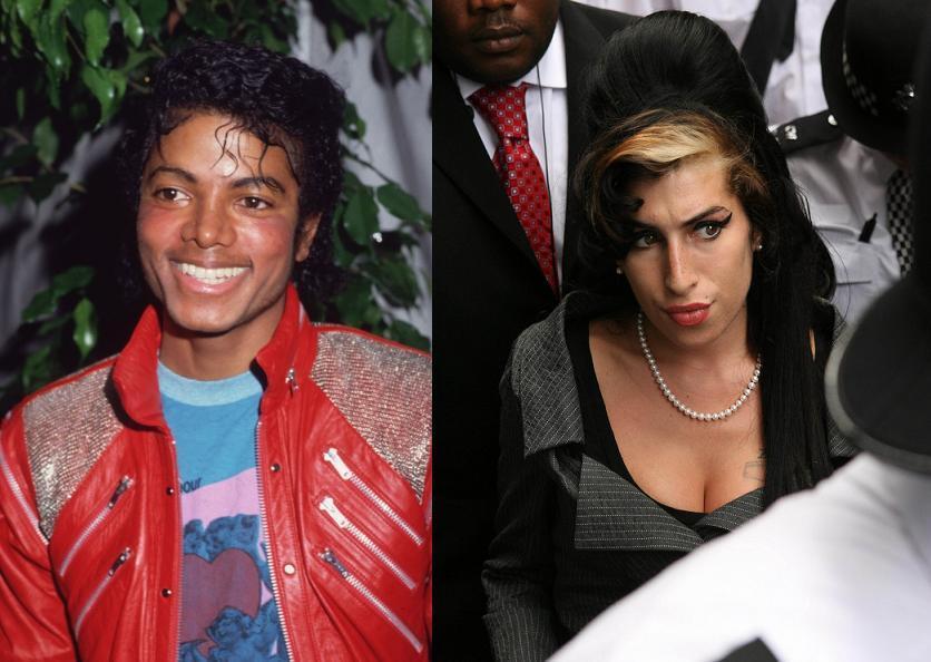 Призрак Майкла Джексона пугает Эми Вайнхаус