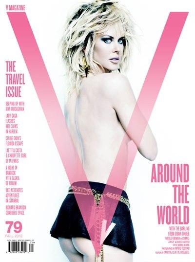 Николь Кидман в журнале V. Осень 2012