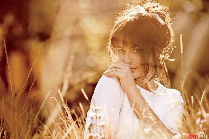 Лиа Мишель в журнале Teen Vogue. Март 2014