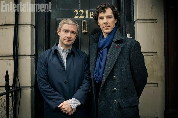 Первый взгляд на новый сезон «Шерлока»