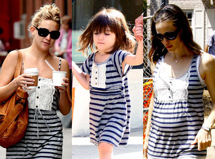 Fashion battle: Сури, Кейт Хадсон и Дженнифер Гарнер