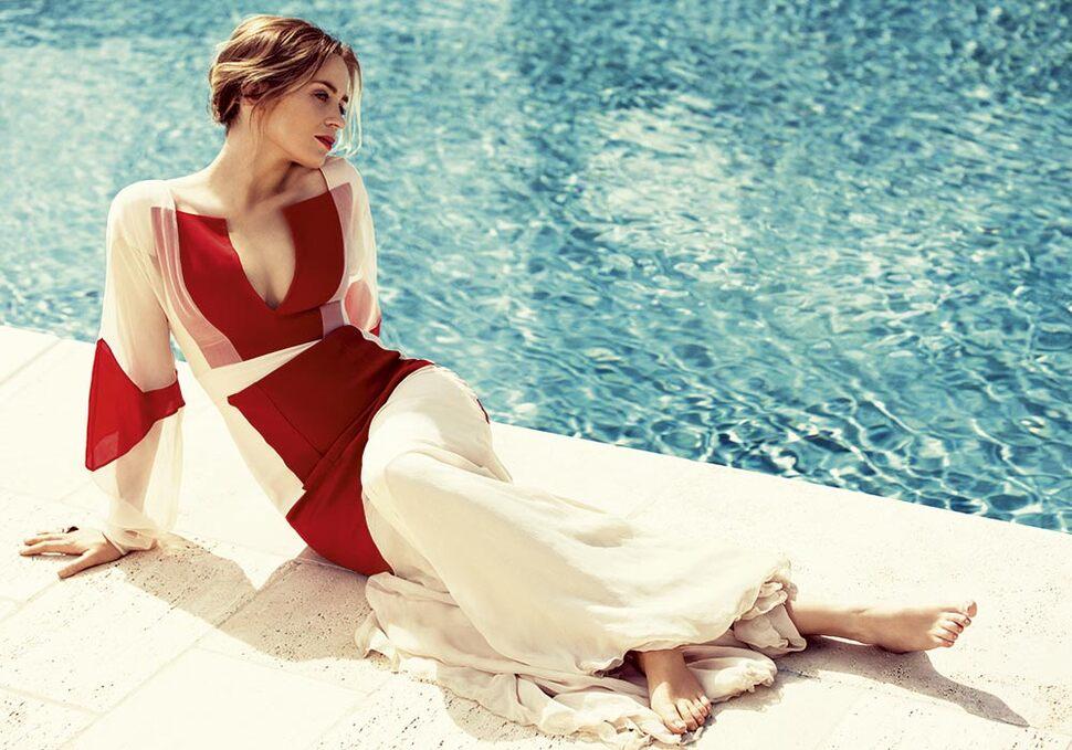 Эмили Блант в журнале Harper's Bazaar Великобритания. Июль 2014