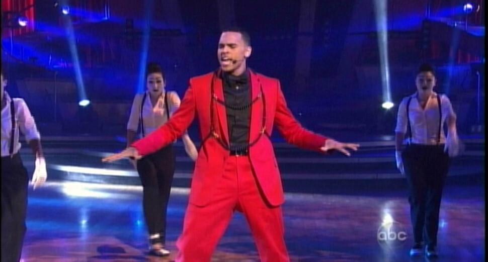 Крис Браун на шоу «Танцы со звездами»