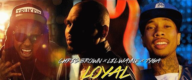 Новый клип Криса Брауна, Лил Уэйна и  Tyga - Loyal