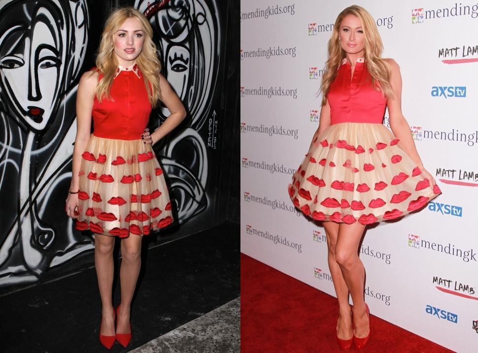 Fashion battle: Пейтон Лист и Пэрис Хилтон