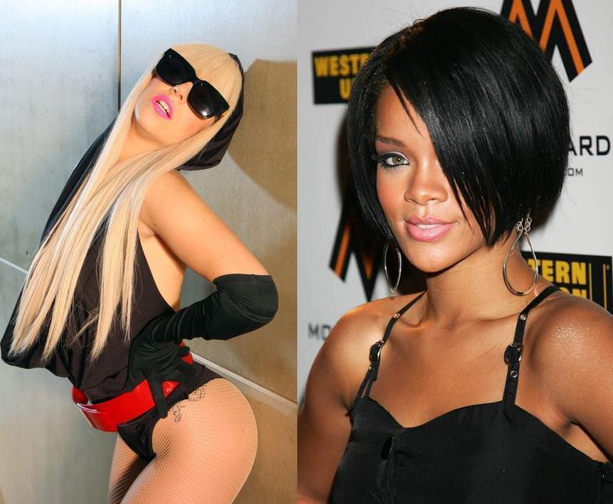Новый дуэт: Lady GaGa и Рианна