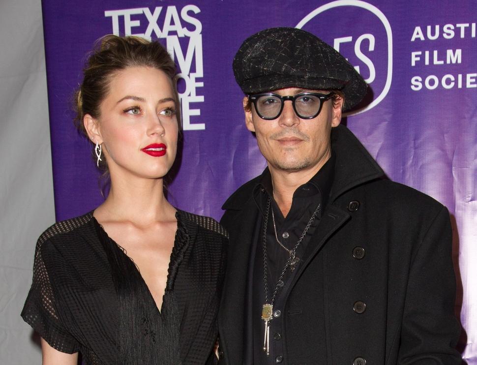 Эмбер Херд и Джони Депп на кинофестивале в Техасе