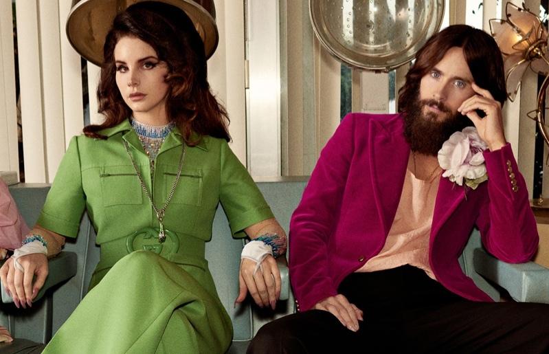 Джаред Лето и Лана Дель Рей снялись в рекламе парфюма Gucci Guilty
