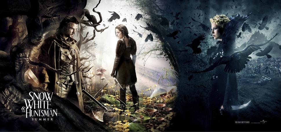 Новые промо-кадры фильма «Белоснежка и охотник»