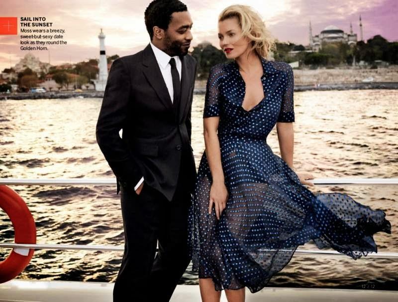 Кейт Мосс в журнале Vogue. Декабрь 2013