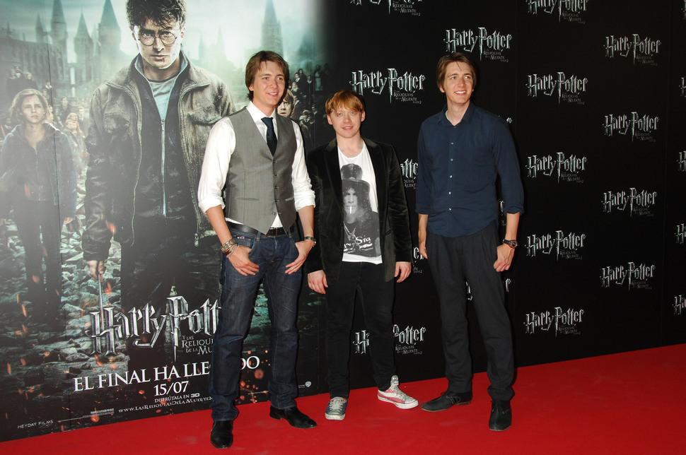 """Звезды """"Гарри Поттера"""" на встрече с фанатами в Мадриде"""