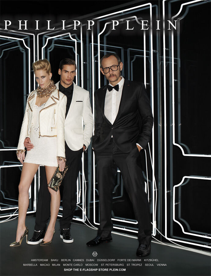 Терри Ричардсон в рекламной кампании Philipp Plein. Весна / лето 2013