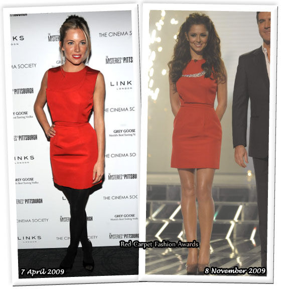 Fashion battle: Сиенна Миллер и Шерил Коул