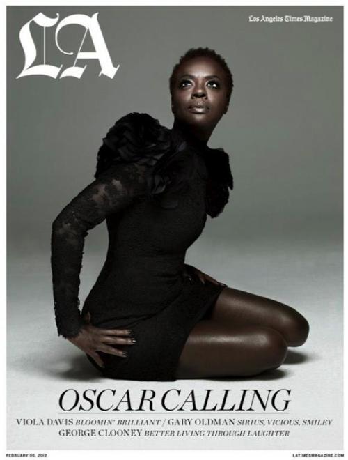 Виола Дэвис в журнале LA Times. Февраль 2012